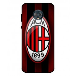 Durable AC Milan Cover For Motorola Moto G6