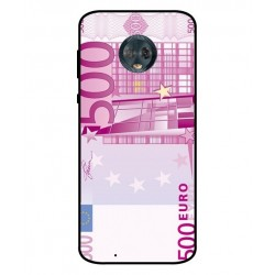 Durable 500 Euro Note Cover For Motorola Moto G6