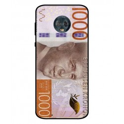 Durable 1000Kr Sweden Note Cover For Motorola Moto G6