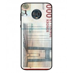 1000 Danish Kroner Note Cover For Motorola Moto G6