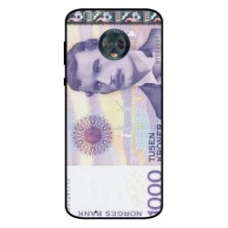 1000 Norwegian Kroner Note Cover For Motorola Moto G6