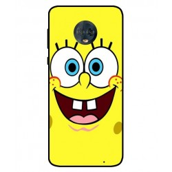 Durable SpongeBob Cover For Motorola Moto G6 Plus