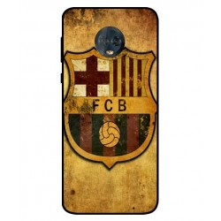 Durable FC Barcelona Cover For Motorola Moto G6 Plus