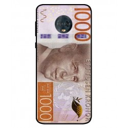 Durable 1000Kr Sweden Note Cover For Motorola Moto G6 Plus