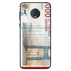 1000 Danish Kroner Note Cover For Motorola Moto G6 Plus