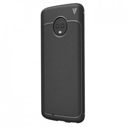 Soft Leather Cover For Motorola Moto G6