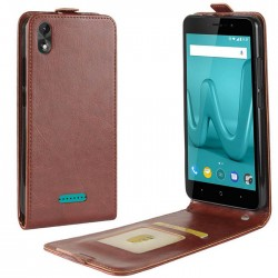 Flip Leather Cover For Wiko Lenny 4 Plus