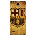 Durable FC Barcelona Cover For LG K8 2018