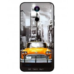 Durable New York Cover For LG K10 2018