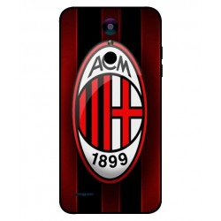 Durable AC Milan Cover For LG K10 2018