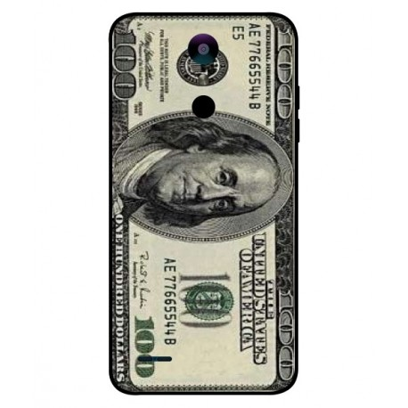 Durable 100 Dollar Note Cover For LG K10 2018