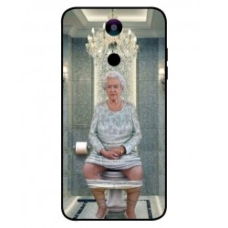 Durable Queen Elizabeth On The Toilet Cover For LG K10 2018