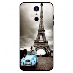 Durable Paris Eiffel Tower Cover For LG K11