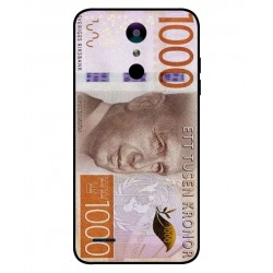 Durable 1000Kr Sweden Note Cover For LG K30