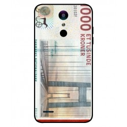 1000 Danish Kroner Note Cover For LG K30