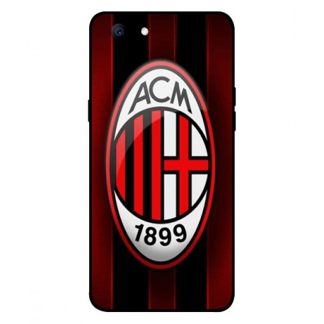 Durable AC Milan Cover For Oppo A3