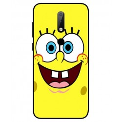 Durable SpongeBob Cover For Nokia X6