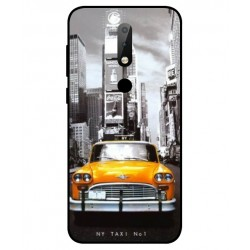 Durable New York Cover For Nokia X6