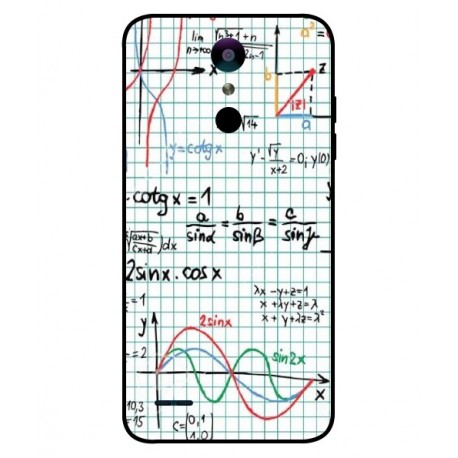 Durable Mathematics Cover For LG Zone 4