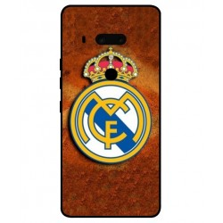 Durable Real Madrid Cover For HTC U12 Plus