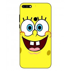 Durable SpongeBob Cover For Huawei Honor 7C