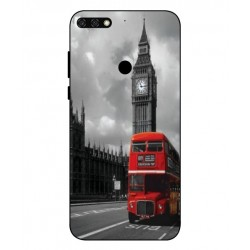 Durable London Cover For Huawei Honor 7C