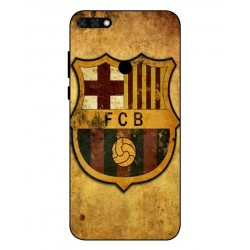 Durable FC Barcelona Cover For Huawei Honor 7C