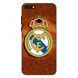 Durable Real Madrid Cover For Huawei Honor 7C