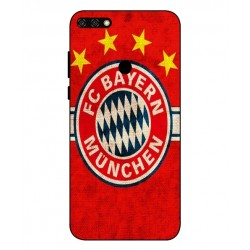 Durable Bayern De Munich Cover For Huawei Honor 7C