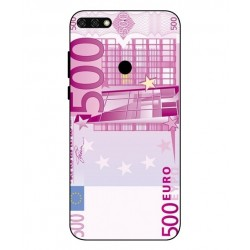 Durable 500 Euro Note Cover For Huawei Honor 7C