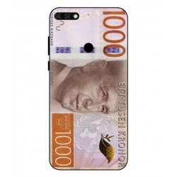 Durable 1000Kr Sweden Note Cover For Huawei Honor 7C