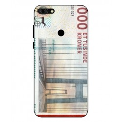 1000 Danish Kroner Note Cover For Huawei Honor 7C