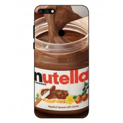 Nutella Cover Til Huawei Honor 7C
