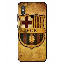 Durable FC Barcelona Cover For Xiaomi Mi 8