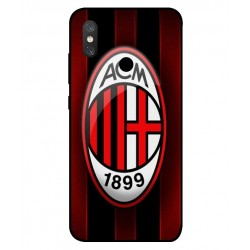 Durable AC Milan Cover For Xiaomi Mi 8