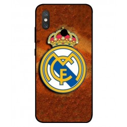 Durable Real Madrid Cover For Xiaomi Mi 8