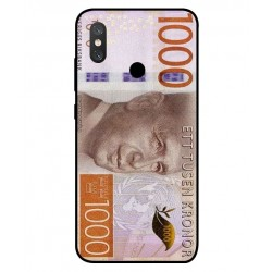 Durable 1000Kr Sweden Note Cover For Xiaomi Mi 8