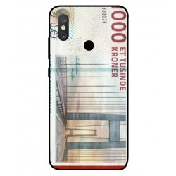 1000 Danish Kroner Note Cover For Xiaomi Mi 8