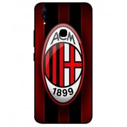Durable AC Milan Cover For Vivo Z1