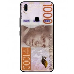 Durable 1000Kr Sweden Note Cover For Vivo Z1