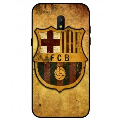 Durable FC Barcelona Cover For Samsung Galaxy J3 2018