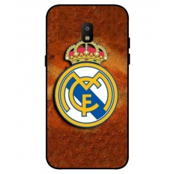 Durable Real Madrid Cover For Samsung Galaxy J3 2018