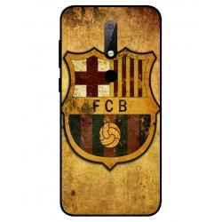 Durable FC Barcelona Cover For Nokia X6
