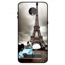 Durable Paris Eiffel Tower Cover For Motorola Moto Z3 Play