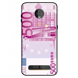 Durable 500 Euro Note Cover For Motorola Moto Z3 Play