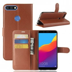 Folio Wallet Cover For Huawei Honor 7C