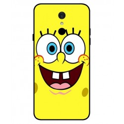 Durable SpongeBob Cover For LG Q7