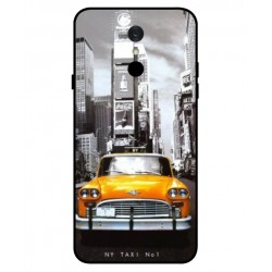 Durable New York Cover For LG Q7