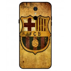 Durable FC Barcelona Cover For LG Q7