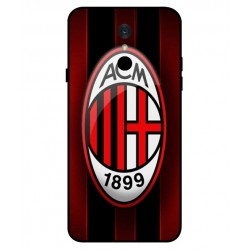 Durable AC Milan Cover For LG Q7